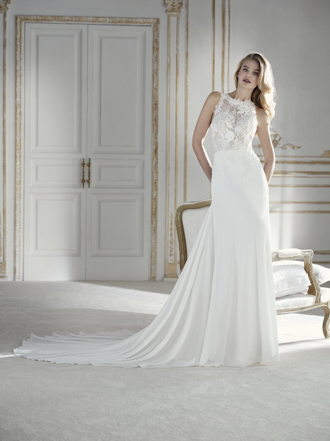 Palmera Wedding                                          dress by La Sposa