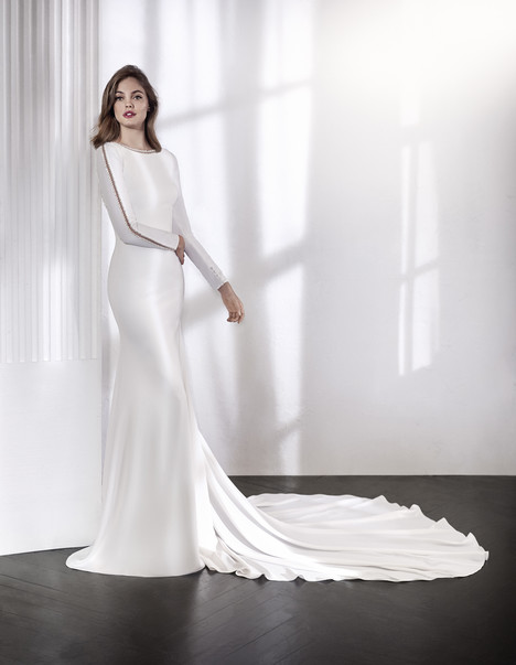 Laurel Wedding                                          dress by St. Patrick