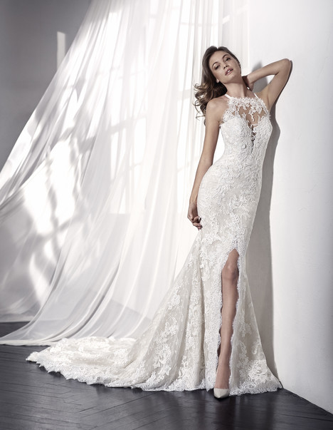 Leonila Wedding                                          dress by St. Patrick