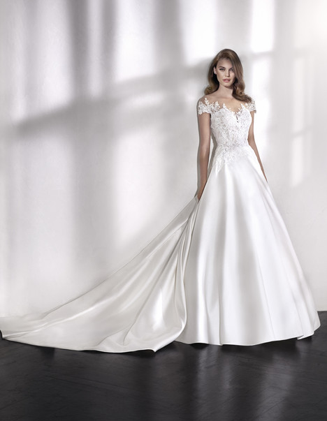Lindsay Wedding                                          dress by St. Patrick