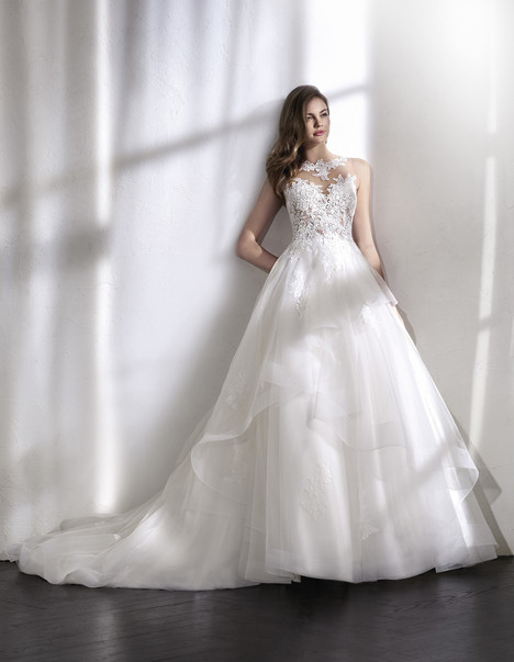 Lourdes Wedding                                          dress by St. Patrick