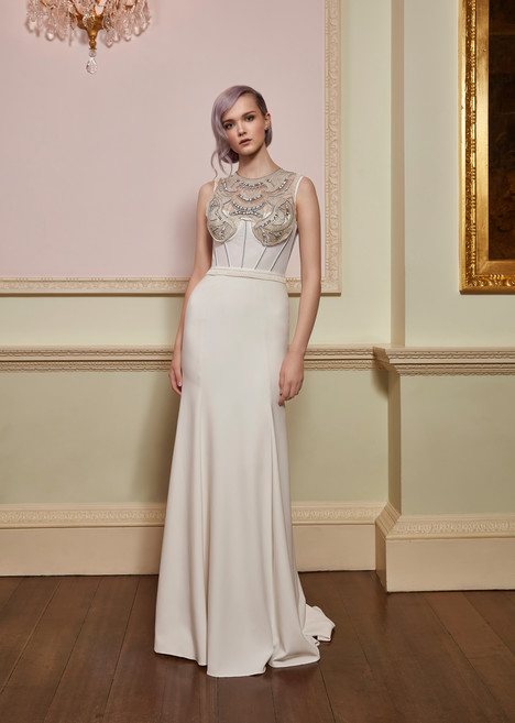Siren (JPB697) gown from the 2018 Jenny Packham collection, as seen on dressfinder.ca