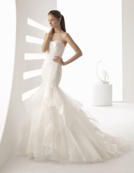 Adonis Wedding                                          dress by Rosa Clara