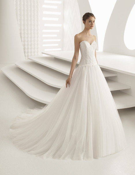 Almaty Wedding                                          dress by Rosa Clara