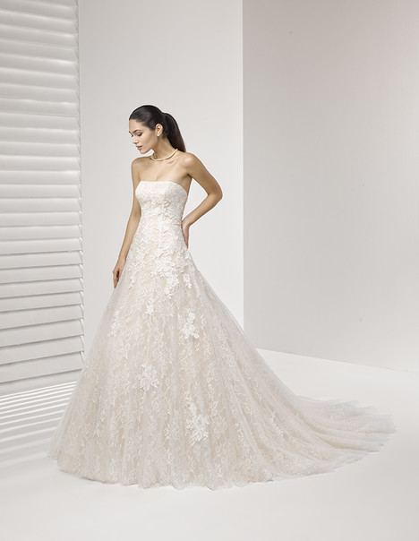 Axel Wedding                                          dress by Rosa Clara