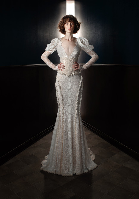 Charlie and Dolly Wedding                                          dress by Galia Lahav
