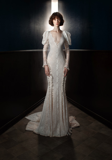 Charlie Wedding                                          dress by Galia Lahav