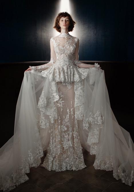 Tesla (+ train) Wedding                                          dress by Galia Lahav