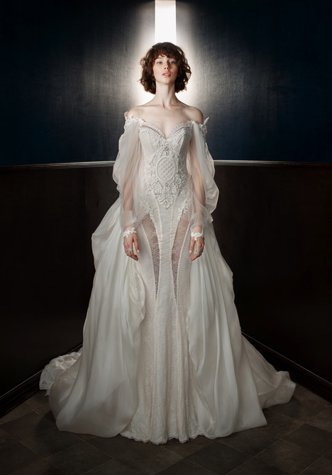 Thelma (+ Ossie train) Wedding                                          dress by Galia Lahav