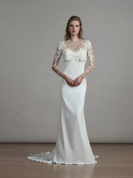 6884 (+ bolero) Wedding dress by Liancarlo