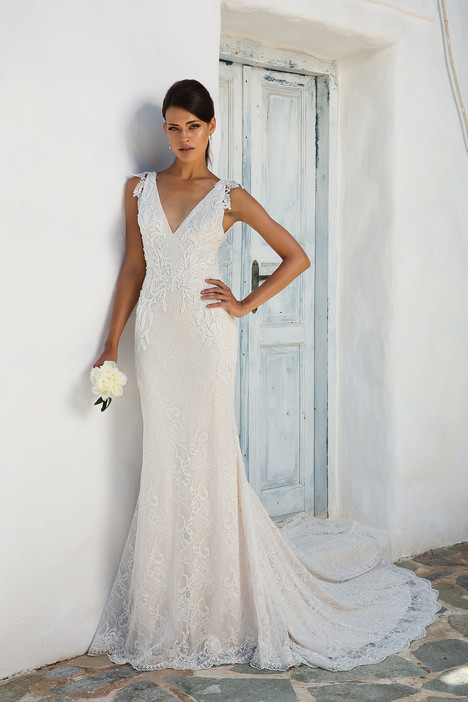 8966 Wedding                                          dress by Justin Alexander