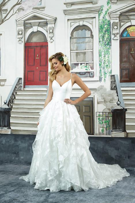 8948 Wedding                                          dress by Justin Alexander