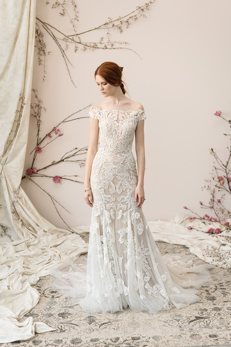 9891 Wedding                                          dress by Justin Alexander Signature