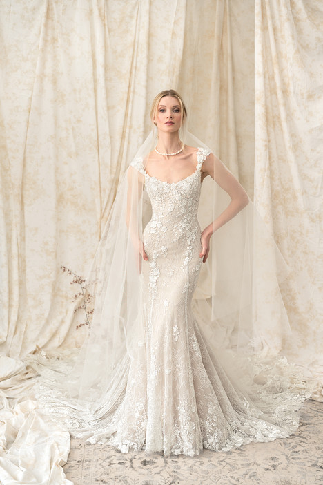9893 Wedding                                          dress by Justin Alexander Signature