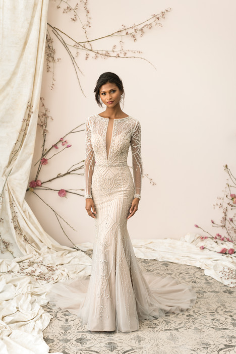 9894 Wedding                                          dress by Justin Alexander Signature
