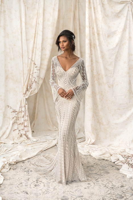 9896 Wedding                                          dress by Justin Alexander Signature