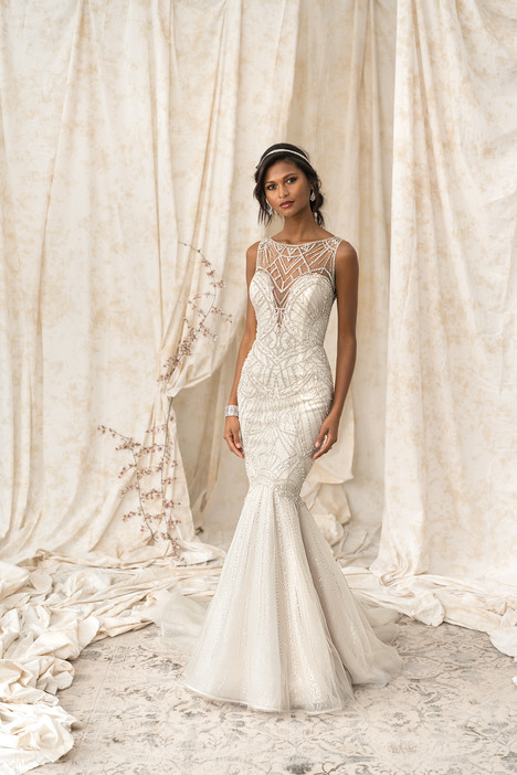 9897 Wedding                                          dress by Justin Alexander Signature