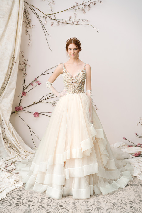 9898 Wedding                                          dress by Justin Alexander Signature
