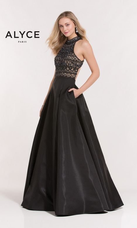 6854 Prom                                             dress by Alyce Paris