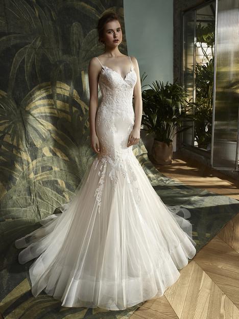 Katniss Wedding                                          dress by Enzoani : Blue