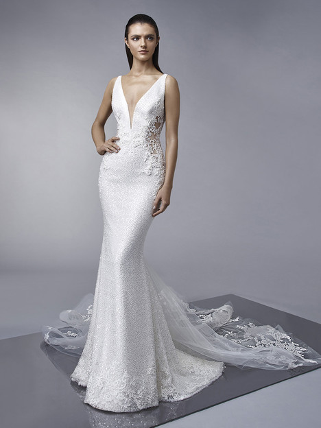 Miley gown from the 2018 Enzoani collection, as seen on dressfinder.ca