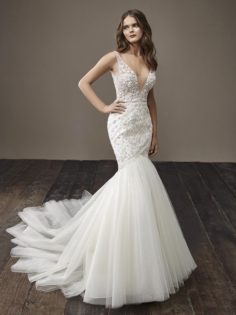 Bailey Wedding                                          dress by Badgley Mischka Bride