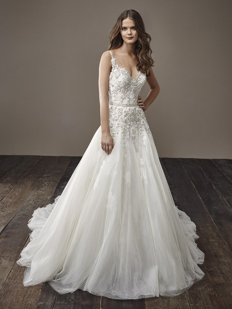 Barbara Wedding                                          dress by Badgley Mischka Bride