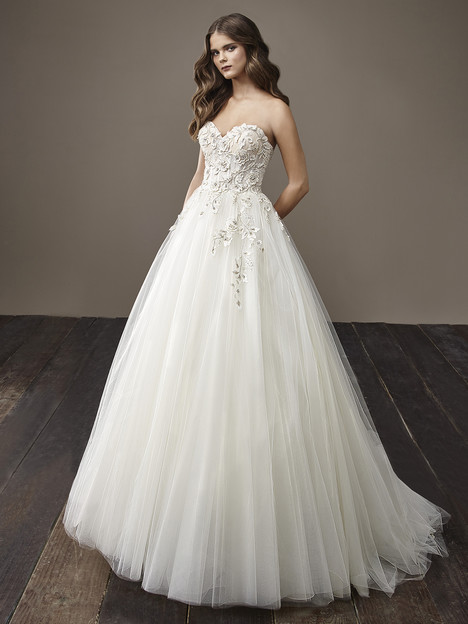 Bernadette Wedding                                          dress by Badgley Mischka Bride