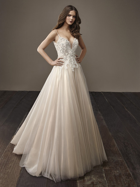 Bernice Wedding                                          dress by Badgley Mischka Bride