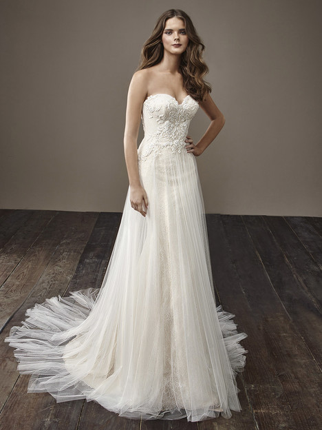 Bethany Wedding                                          dress by Badgley Mischka Bride