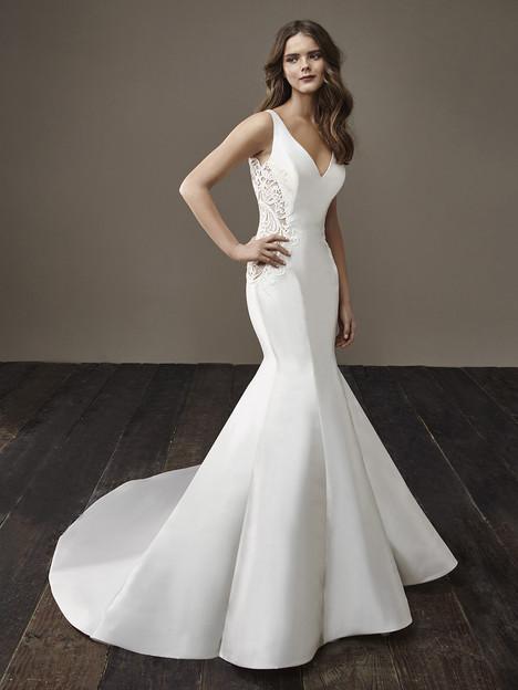 Beth Wedding                                          dress by Badgley Mischka Bride