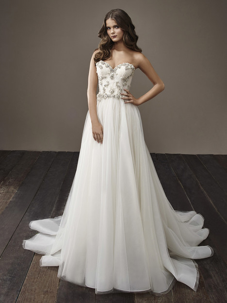 Betty Wedding                                          dress by Badgley Mischka Bride