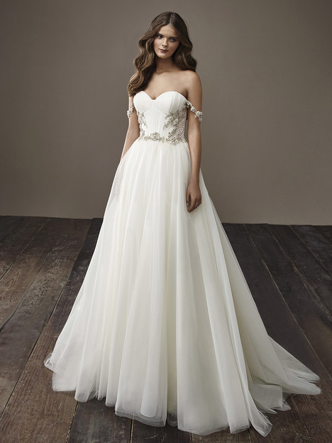 Beverly Wedding                                          dress by Badgley Mischka Bride