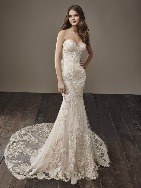 Breanne Wedding                                          dress by Badgley Mischka Bride