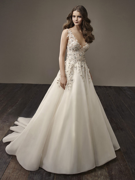 Brooke Wedding                                          dress by Badgley Mischka Bride
