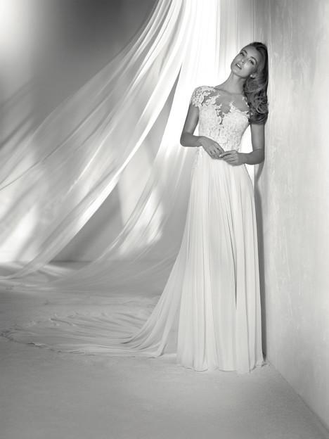Regina Wedding                                          dress by Pronovias Atelier