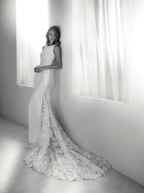 Rua Wedding                                          dress by Pronovias Atelier