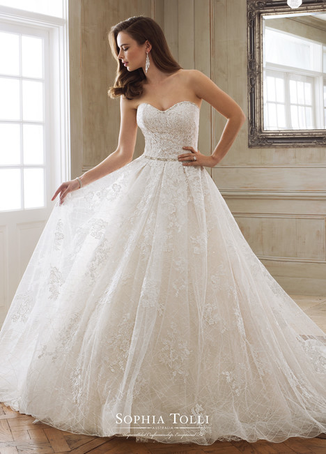 Hera (Y11868) Wedding                                          dress by Sophia Tolli