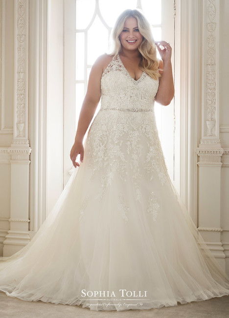Kali (Y11878 Plus) Wedding                                          dress by Sophia Tolli