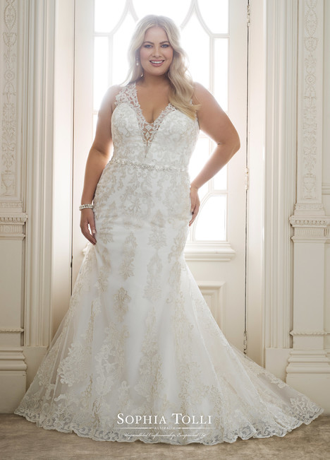 Olympia (Y11883 Plus) Wedding                                          dress by Sophia Tolli