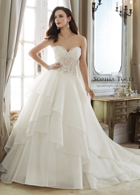 Elphida (Y11885) Wedding                                          dress by Sophia Tolli