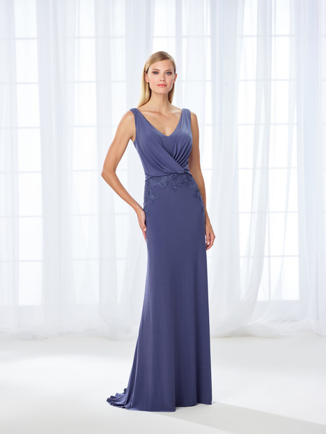 118666 (blue) Mother of the Bride                              dress by Cameron Blake