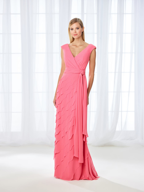 118668 (coral) Mother of the Bride                              dress by Cameron Blake