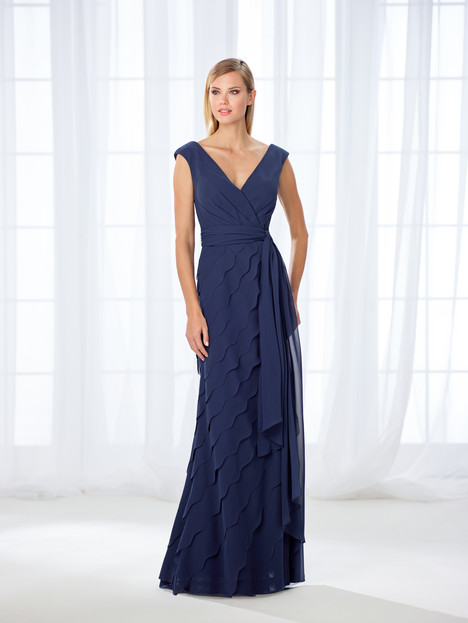 118668 (navy) Mother of the Bride                              dress by Cameron Blake