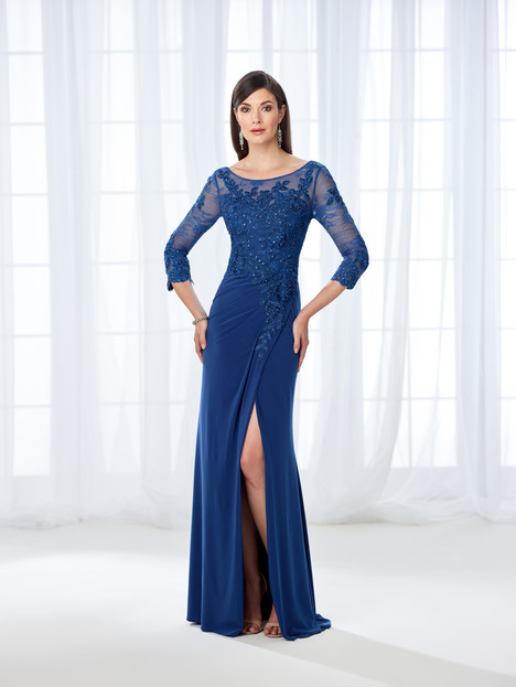 118669 (navy) Mother of the Bride                              dress by Cameron Blake