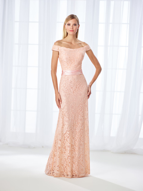 118670 (peach) Mother of the Bride                              dress by Cameron Blake