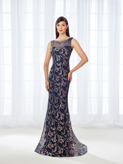 118671 (navy) Mother of the Bride                              dress by Cameron Blake