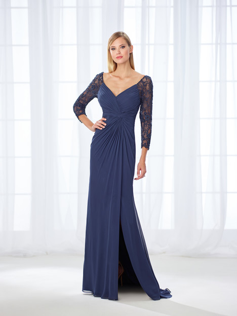 118672 (navy) Mother of the Bride                              dress by Cameron Blake