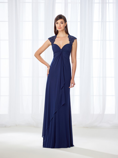 118673 (navy) Mother of the Bride                              dress by Cameron Blake