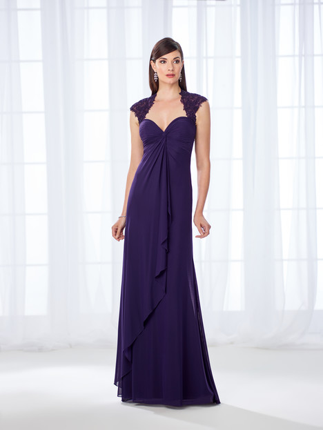 118673 (purple) Mother of the Bride                              dress by Cameron Blake
